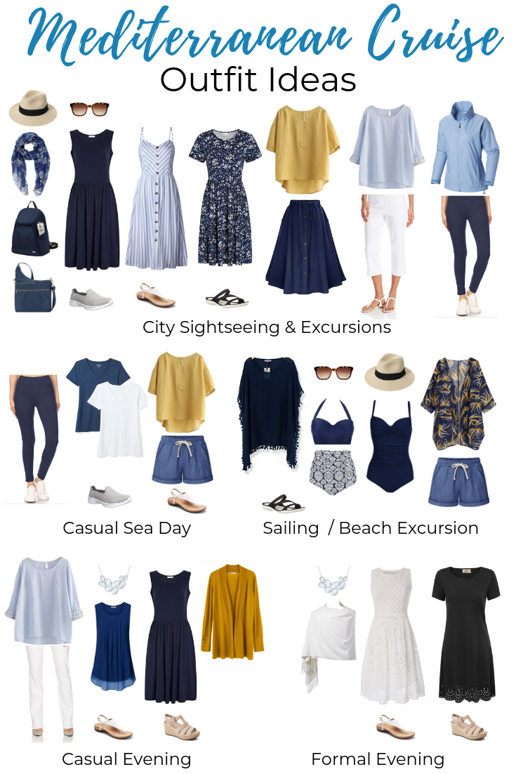 What to Pack for a Mediterranean Cruise - Packing List & Outfit Ideas!