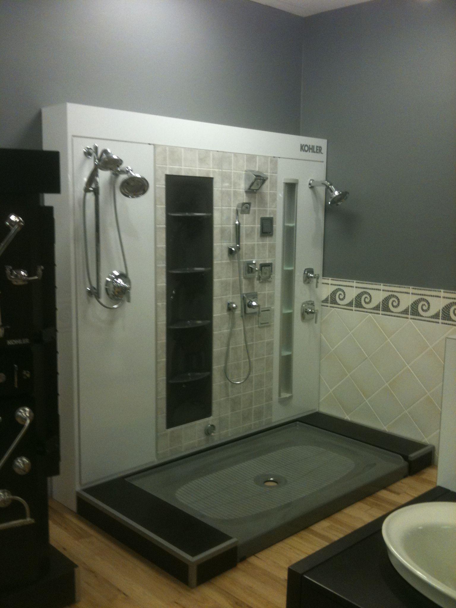 Kohler Shower Display | Our Denver Showroom | Pinterest
