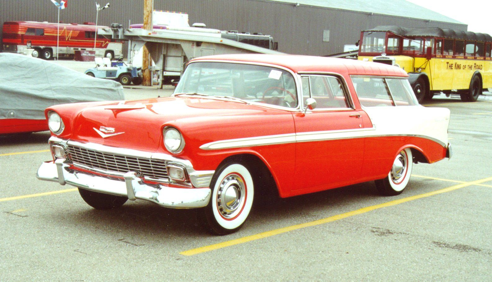 Chevy nomad!
