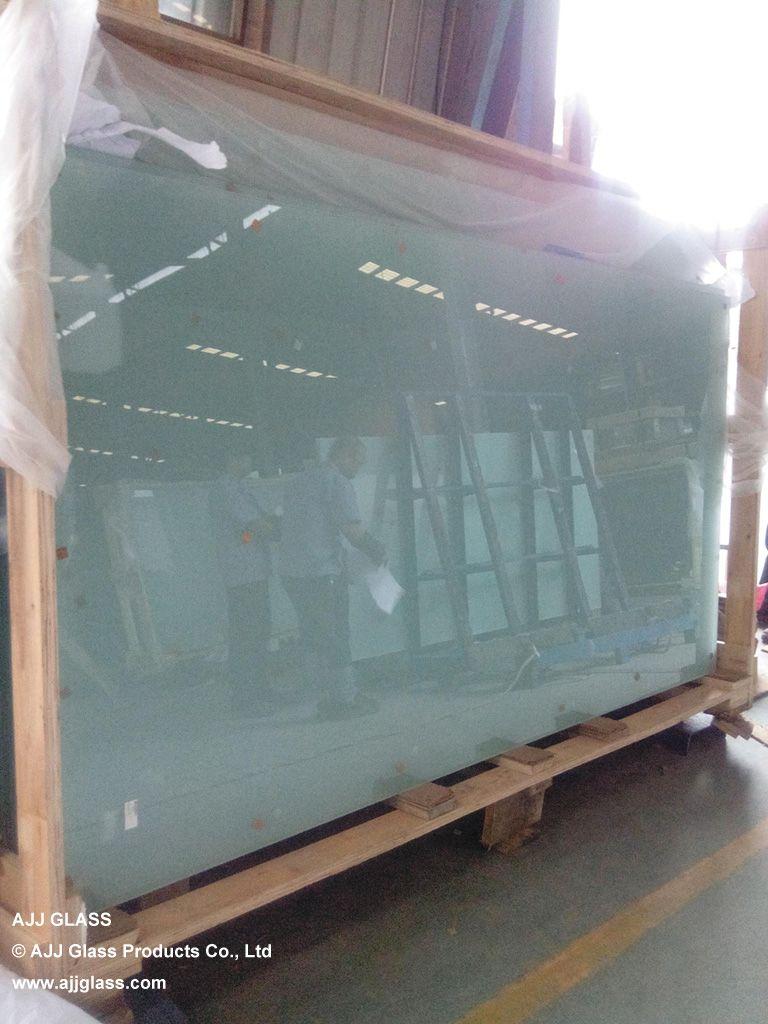 6mm Acid Etched Toughened Glass For Fulton Lane Franklin