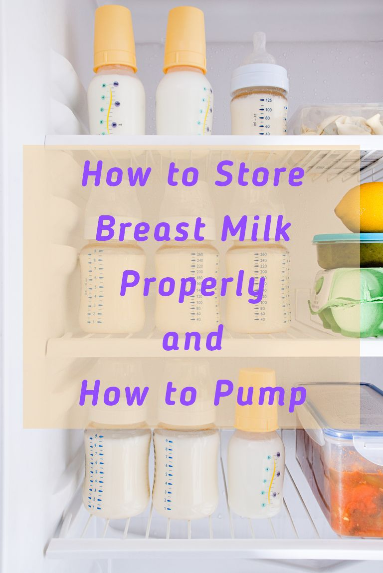 How to store milk properly