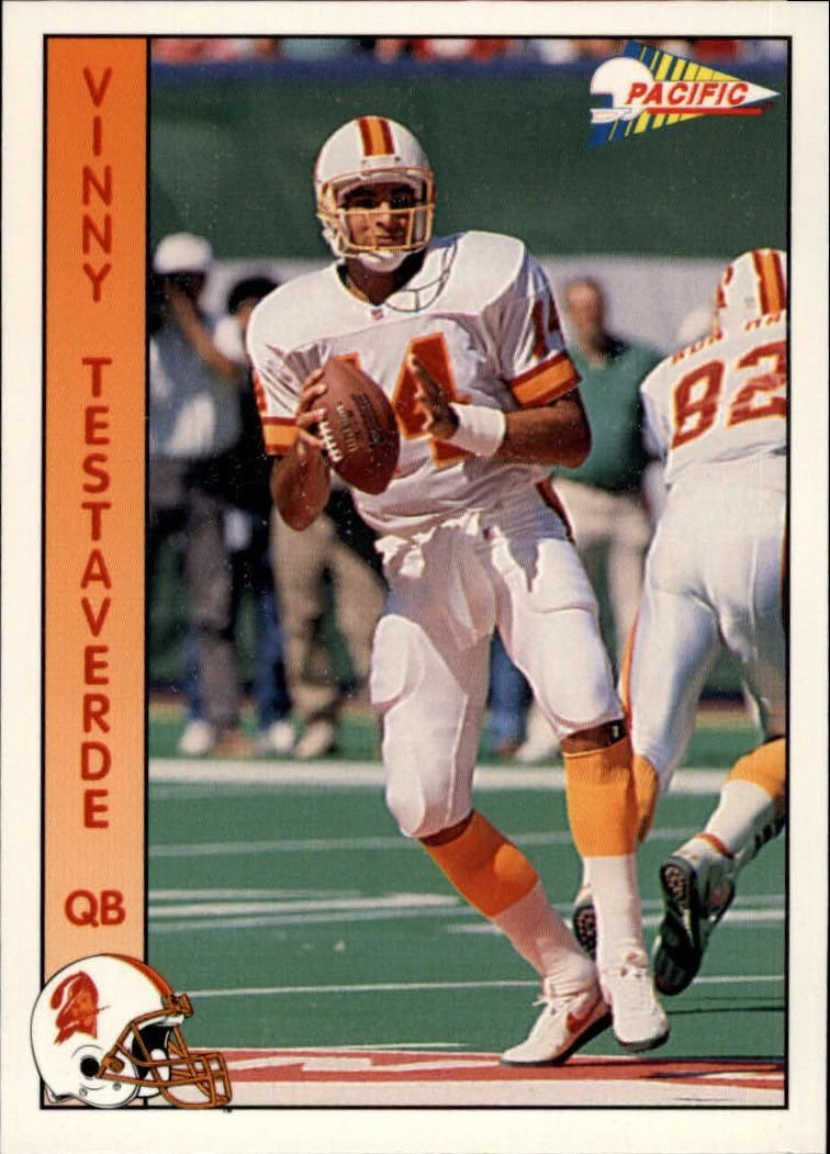 17741d24 1992 Pacific #308 Vinny Testaverde - Football Card in 2019 | NFL ...