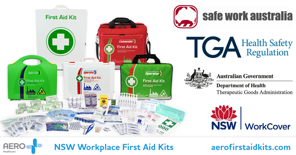 NSW workplace First Aid Kit compliance Aero Healthcare
