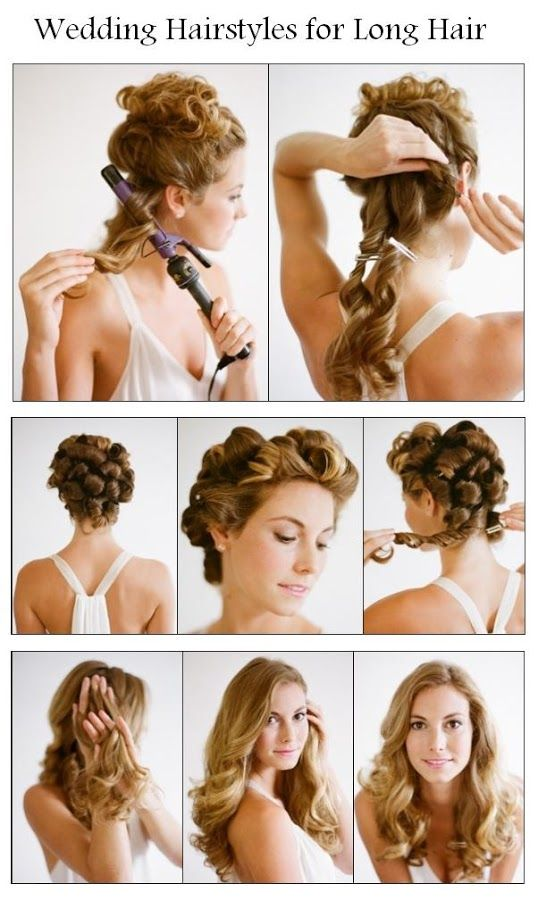50 Most Popular Hairstyle Video Tutorials Ever Pinterest Long