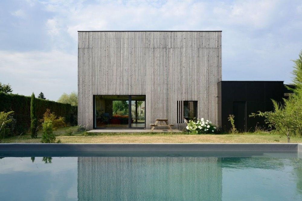 Gallery Of Villa B Tectoniques Architects 6 Residential Architecture Architecture House In The Woods