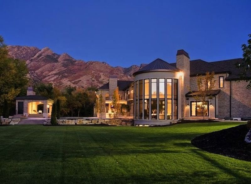 Eccentric Salt Lake City Masterpiece Luxury Estate Mansions Luxury Mansions