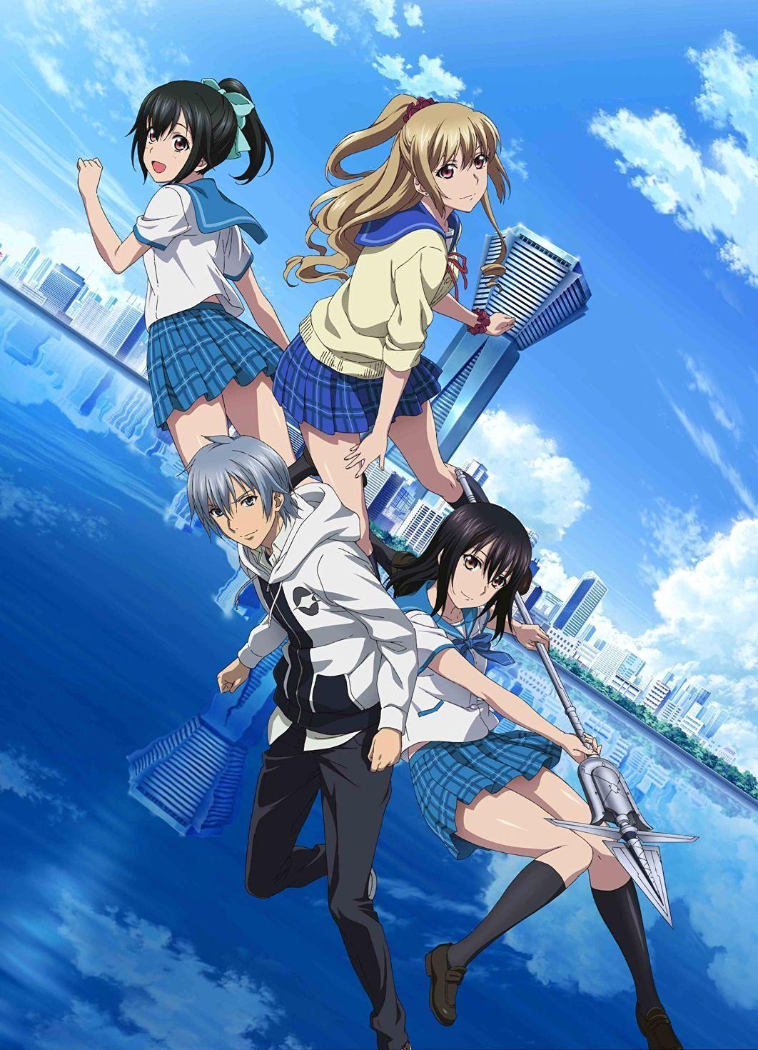Imagen Promocional Y Artista De Opening La Nueva Serie OVAs Strike The Blood