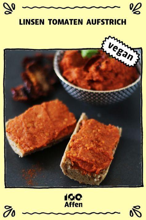 Photo of Lentils Tomato Spread ► Vegan recipe on 100Monkeys.de