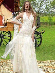 Vestidos de novia baratos hippies