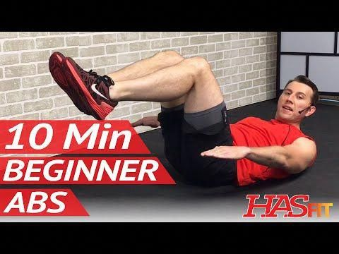 10 min easy abs workout for beginners  beginner ab