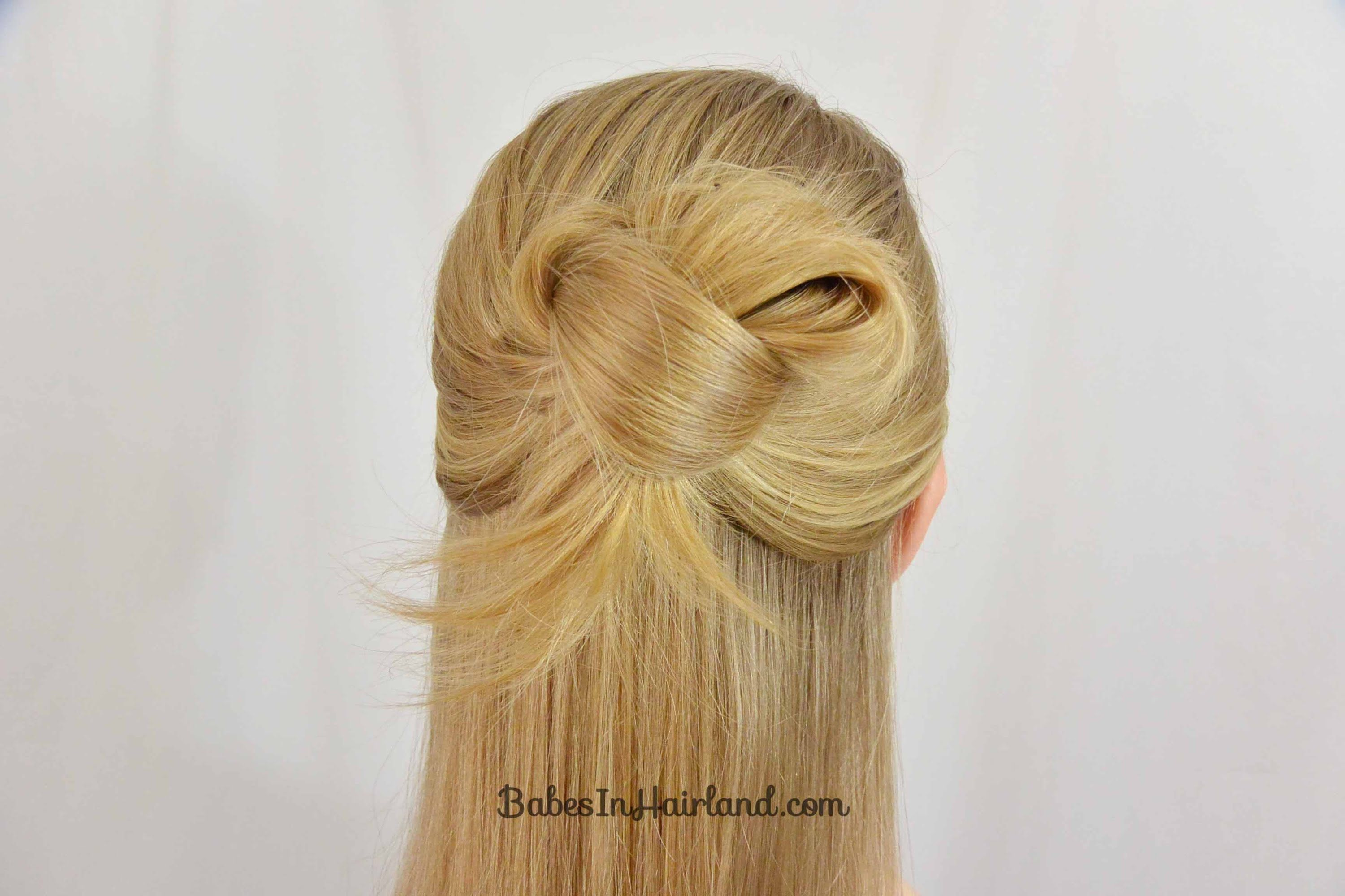 Easy minute knotted hairstyle babesinhairland lista de