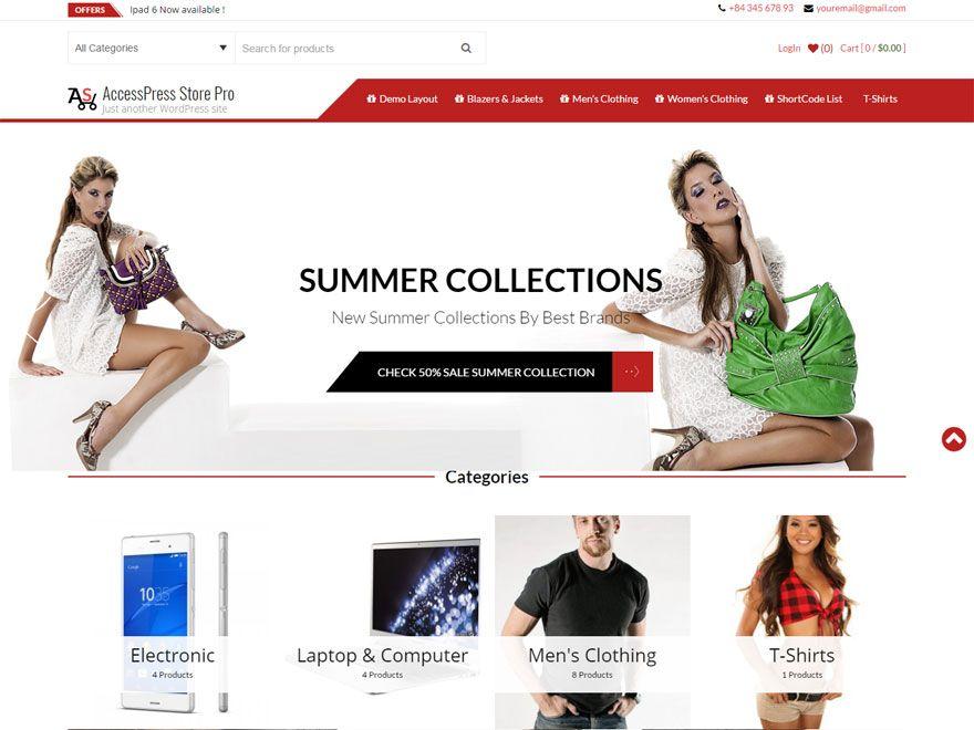 AccessPress Store Pro - Best WordPress eCommerce Theme | WordPress ...