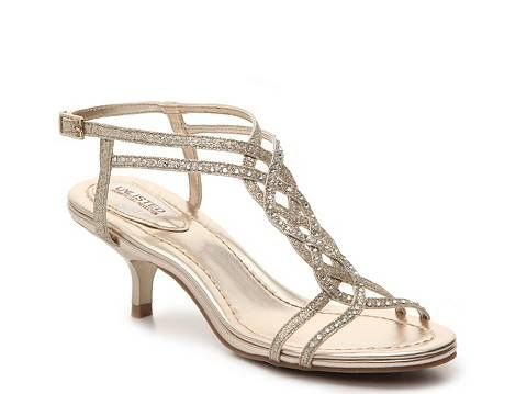 f08da0a2404e Gold Shoe for Pippi's Wedding -- Unlisted Kind Gal Sandal ($39.95) @ DSW