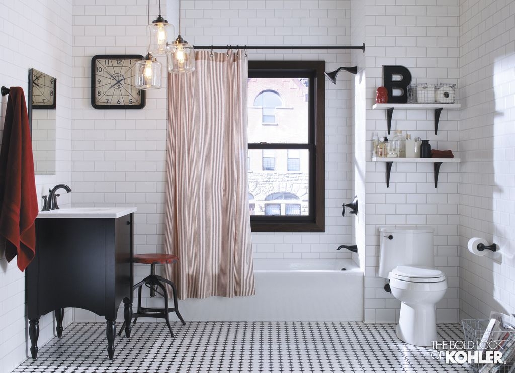 The Bold Look Of Small Bathroom Tubs And Bath - Brooklyn bathroom remodeling