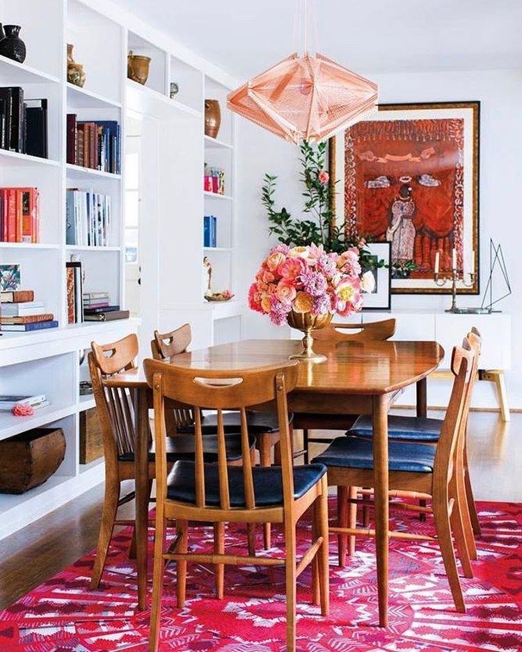 4348 likes 29 comments domino dominomag on instagram 18 · dining room decoratingroom decorating ideasdining