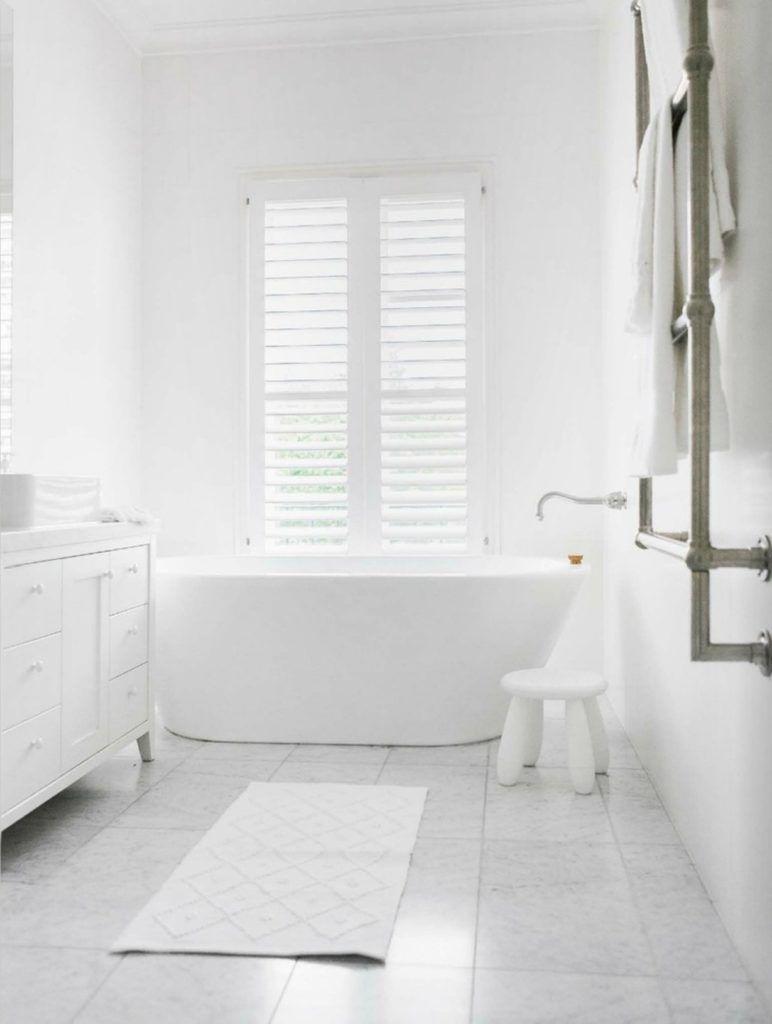 All White Bathroom Ideas Decorating For Farmhouse Thistlewood Farm