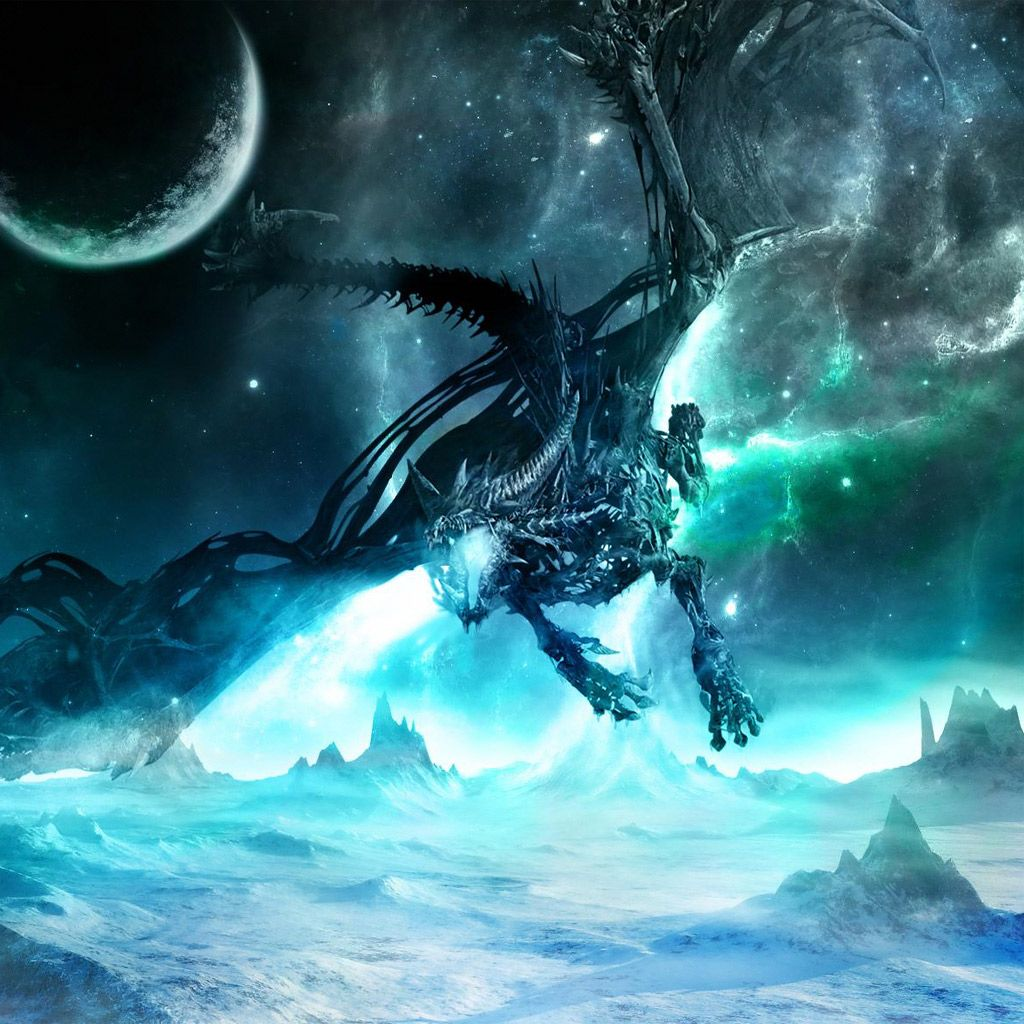 cool ice dragons fire