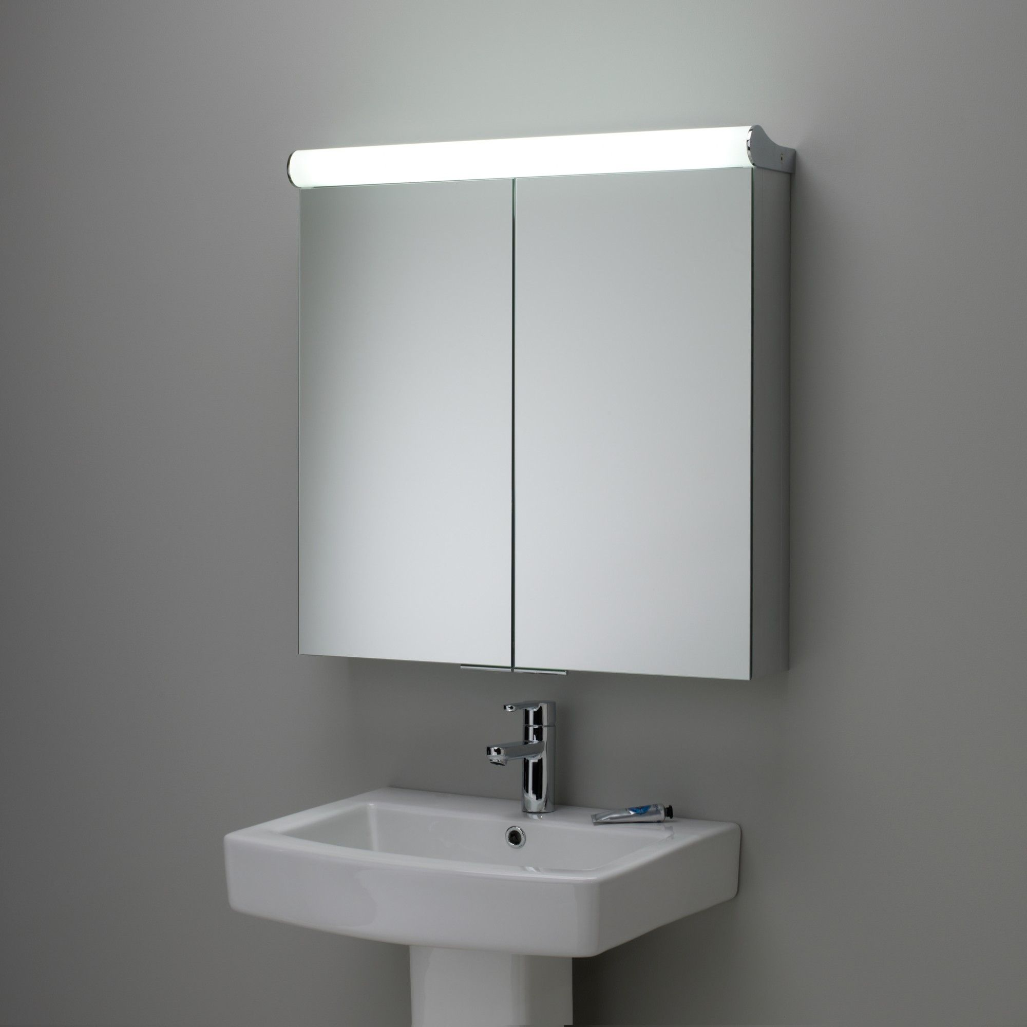 Roper Rhodes Latitude Illuminated Double Bathroom Cabinet with ...