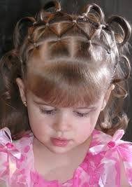 Peinados faciles de pelo corto de nina