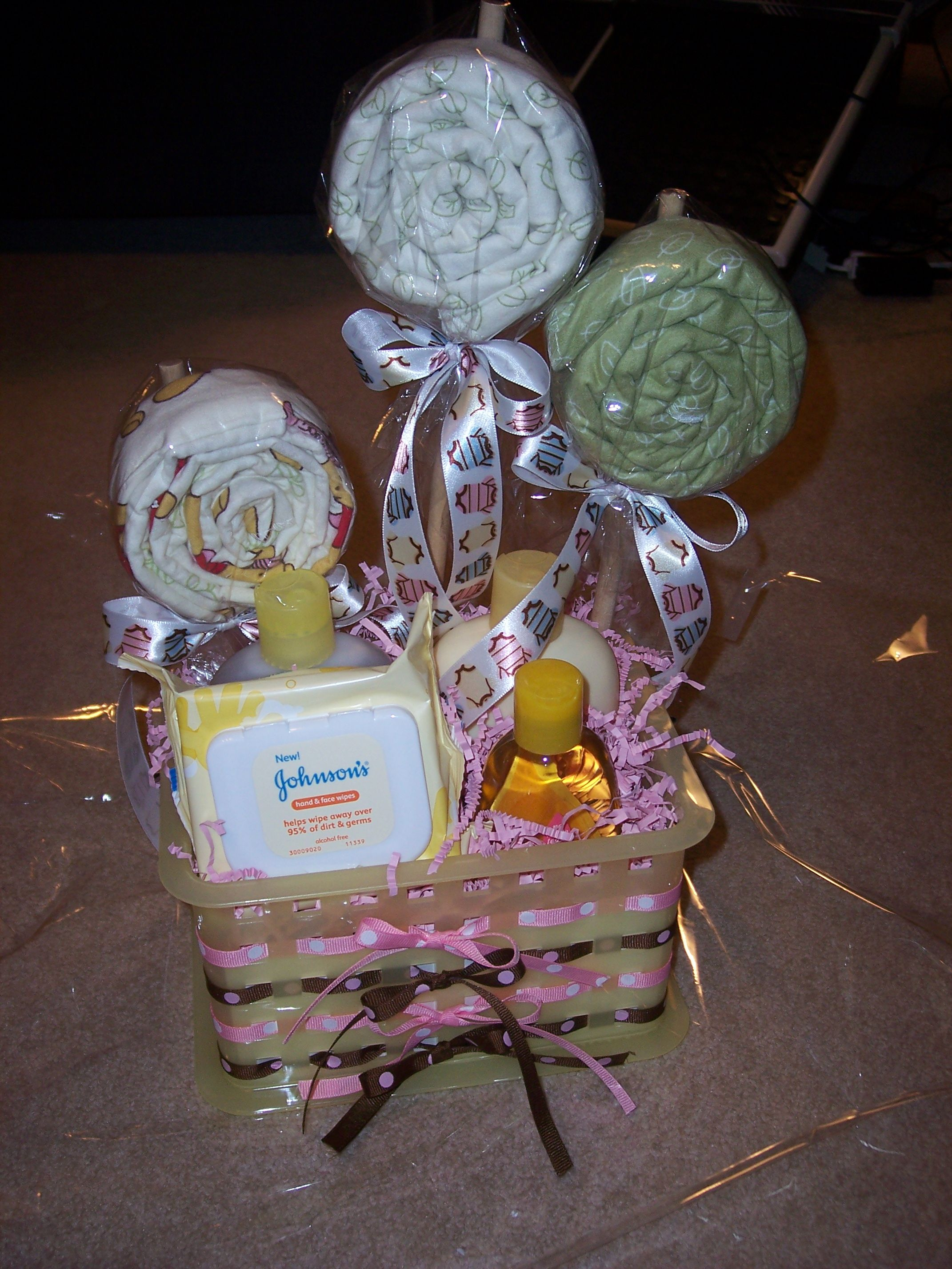 Gift Basket For The Newborn So Many Pregnant Friends