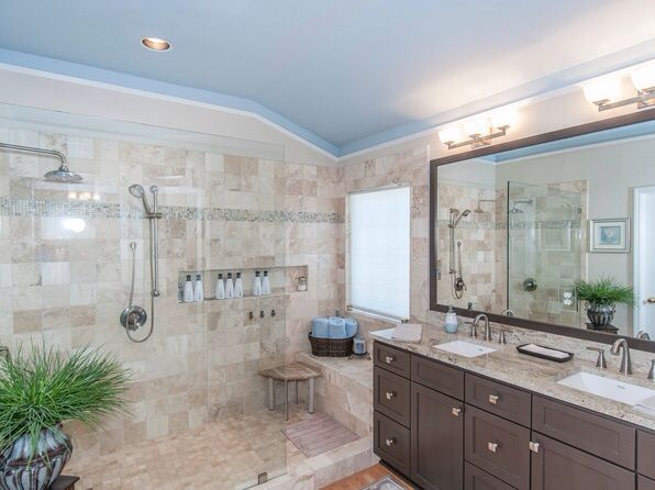 master bath remodel. remove soaker tub and extend shower. | master