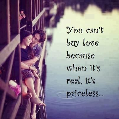 Can't buy love