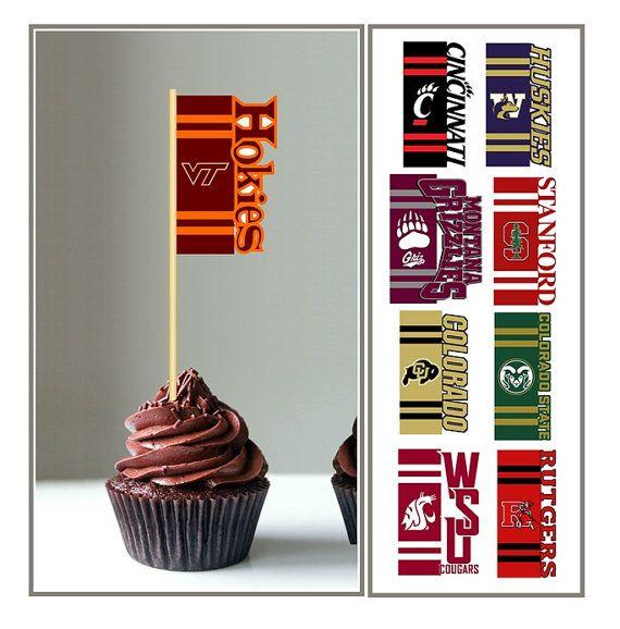 Virginia Tech Hokies NCAA College Football Sports Party Paper Luncheon Napkins
