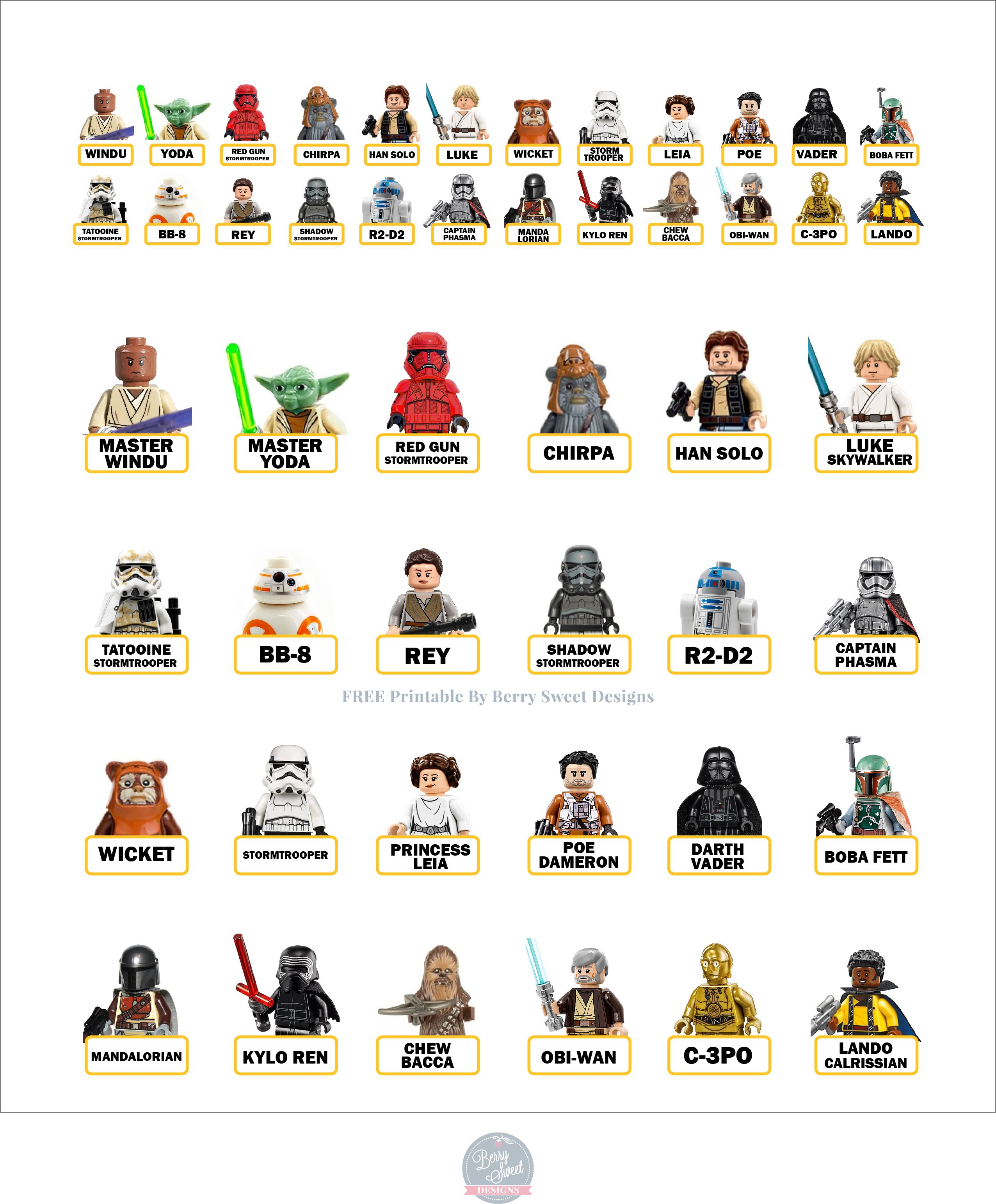 Guess Who Lego Starwars Free In 2020 Guess Games For Kids Family Fun
