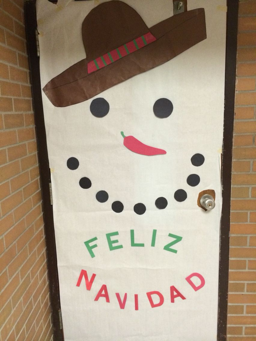Door decorations for spanish class - Spanish Door Decorations