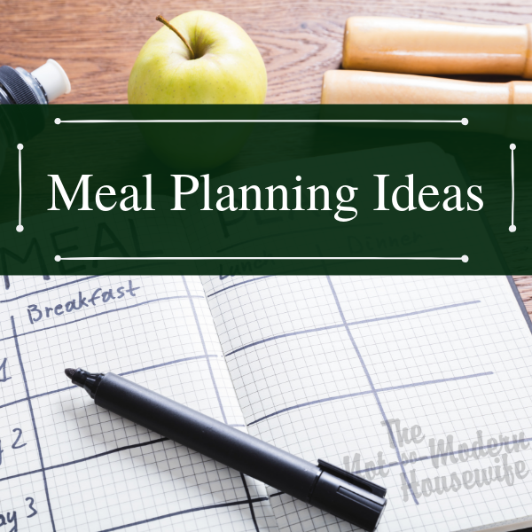Meal Planning Helps Me Save Time And Money While Reducing