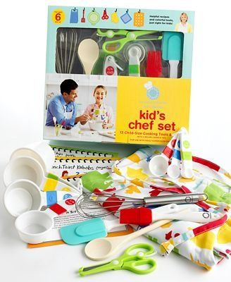 Marvelous Amazon.com: Martha Stewart Collection Kids Kitchen Tools Kit 14 Child Size Cooking  Tools