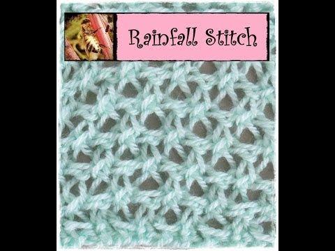 Loom Knitting Stitches Three Step Stitch On A Round Loom Youtube