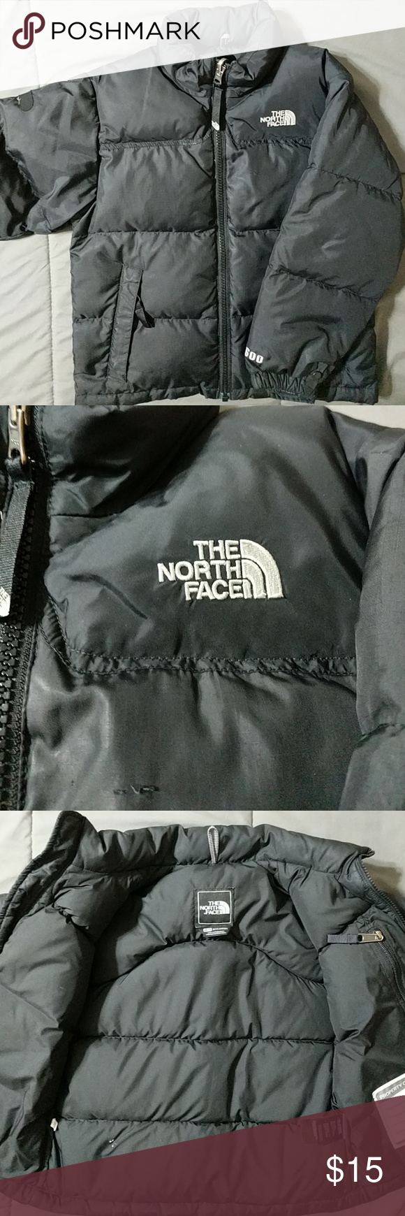 North Face Down Jacket Black Xs 5t The North Face Down Jacket Black Puffer Jacket [ 1740 x 580 Pixel ]