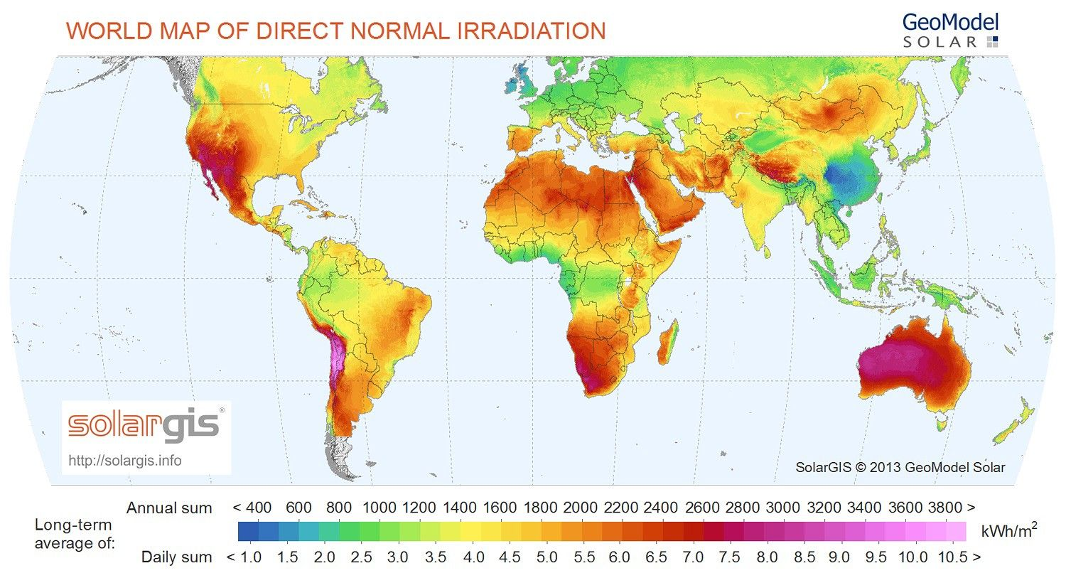solar energy world map Which City Has The Best Climate In The World Solar Energy