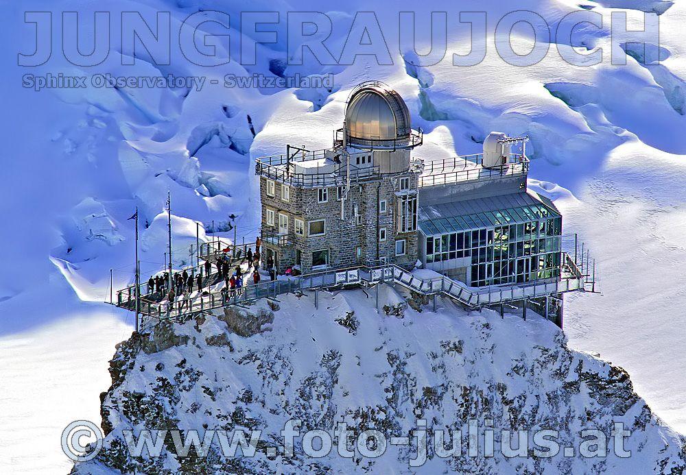 Thank you Matt Lauer, I will visit the Jungfraujoch Sphinx