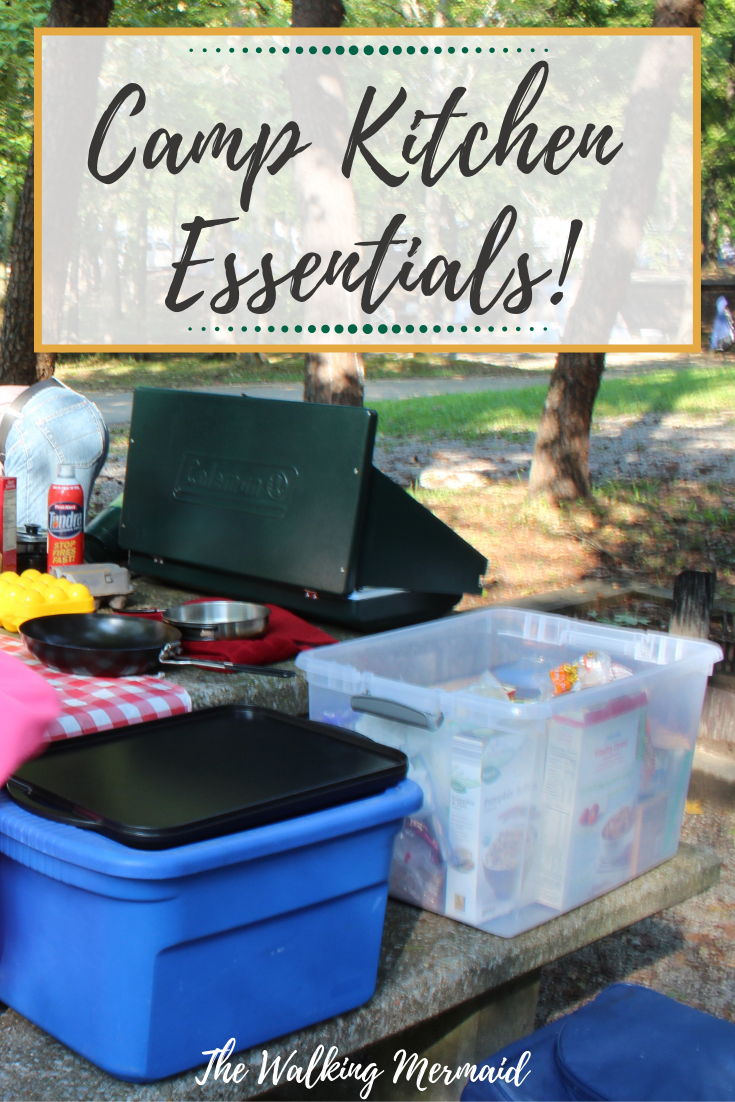 Photo of Camp Kitchen Essentials & Organization – The Walking Mermaid