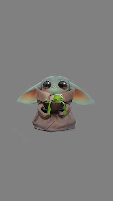 """The child """"Baby Yoda"""" phone wallpaper collection Cool"""