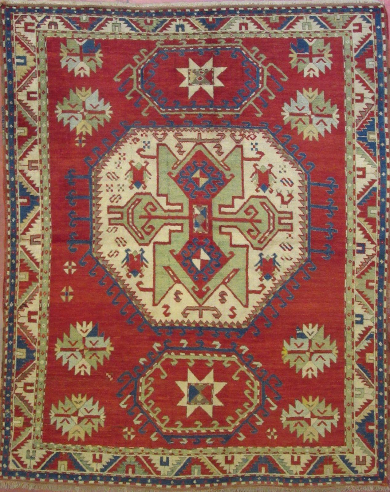 N. 206074 – kAZAK ( LORIPAMPAK) ANTICO – 228 x 180 cm. – Tappeti ...
