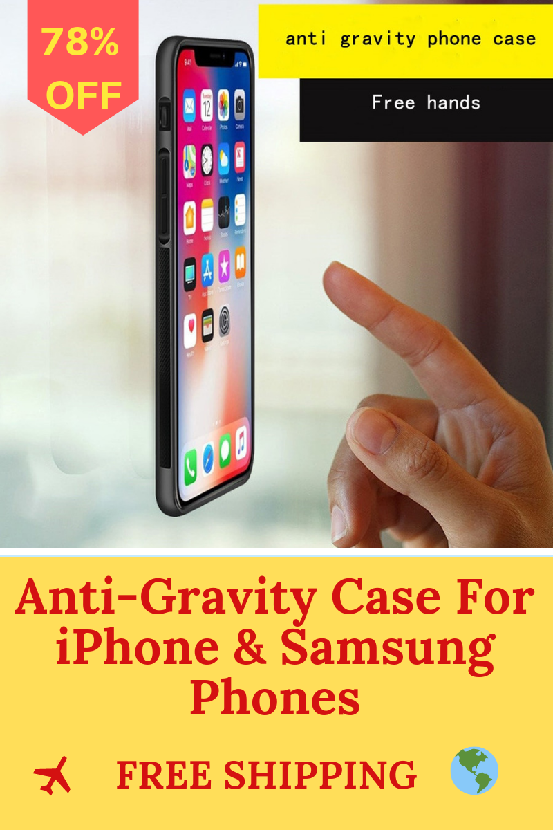 purchase cheap 6a5b3 52540 Anti-Gravity Case For iPhone & Samsung Phones | Cool Gadgets ...