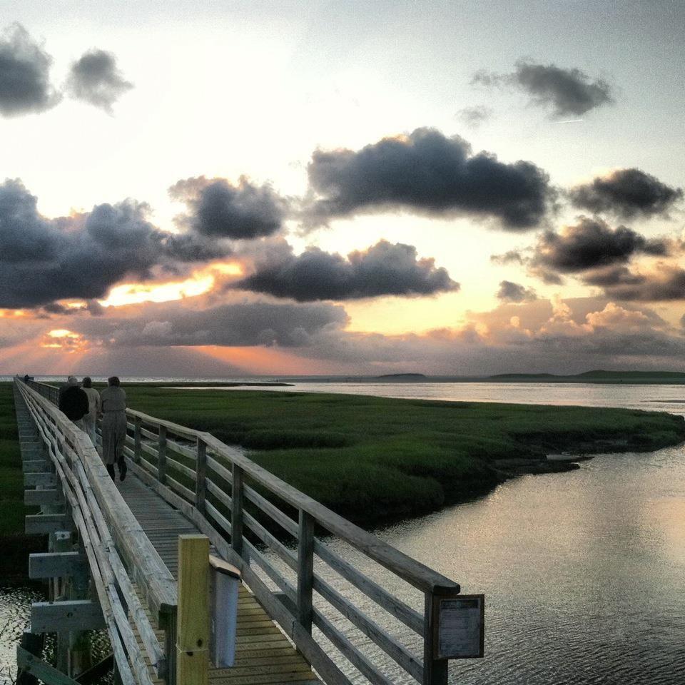 Sunset At Gray's Beach, Yarmouthport, MA, Cap…