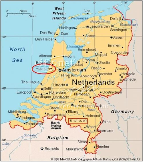 map of the netherlands with cities Google Search Travel