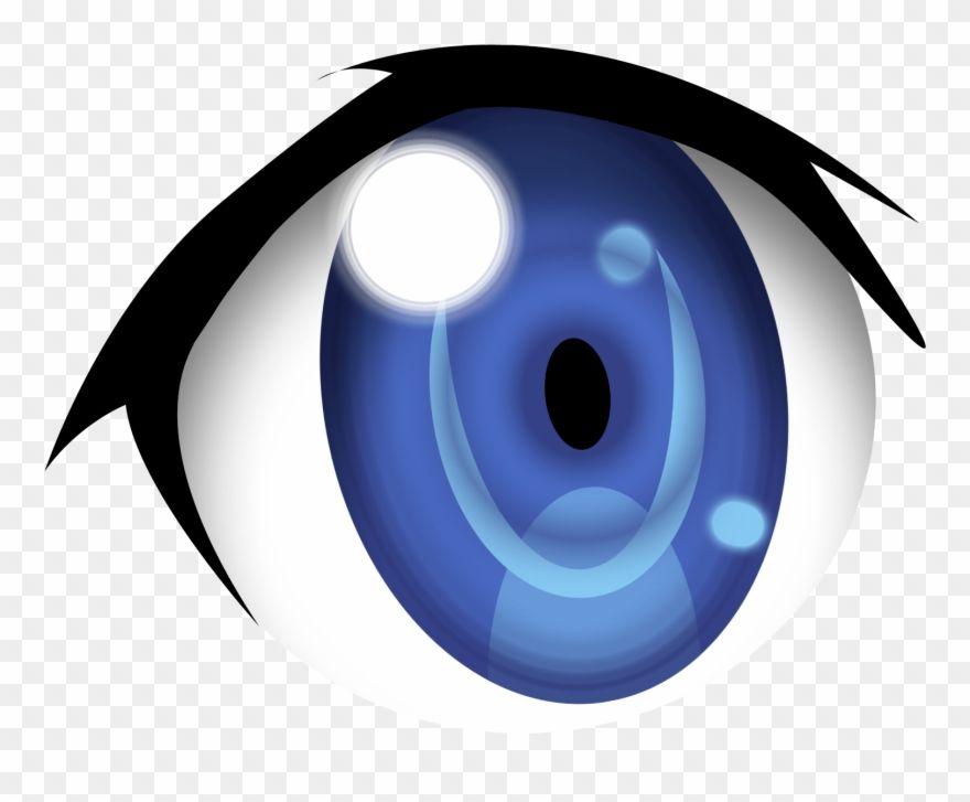 Blue Anime Eyes Png Blue Anime Anime Eyes Brown Hair Blue Eyes