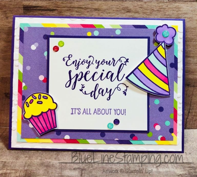 Blue line stamping jackie beers independent stampin up