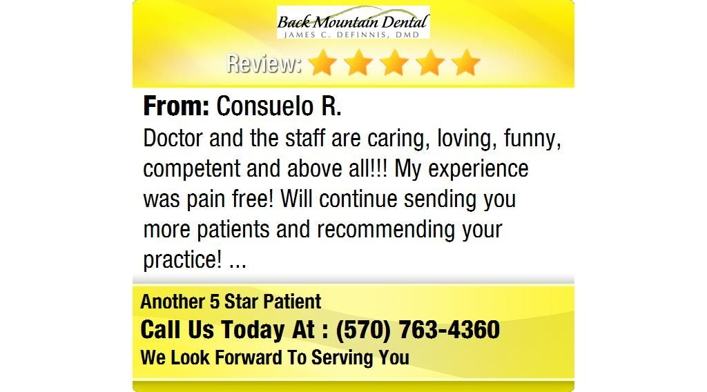 Doctor and the staff are caring, loving, funny, competent and above all!!! My experience...