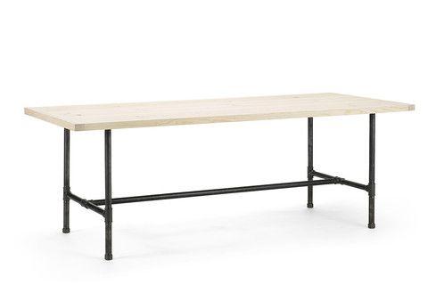 Plankebord i fyr med Pipe design stel