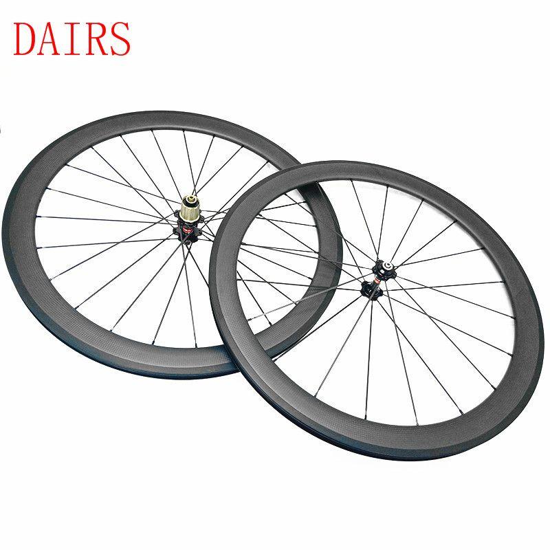 Carbon Road Wheels 60mm 271 372 Clincher 3k Ud Matte Wheel Width