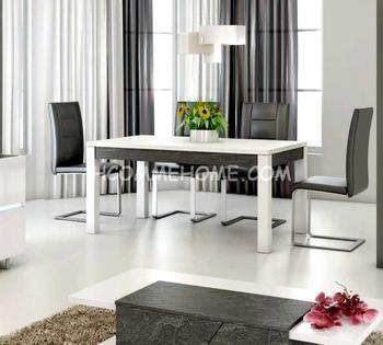 Cool Salle A Manger Table De Salle A Manger Design Laque Blanc