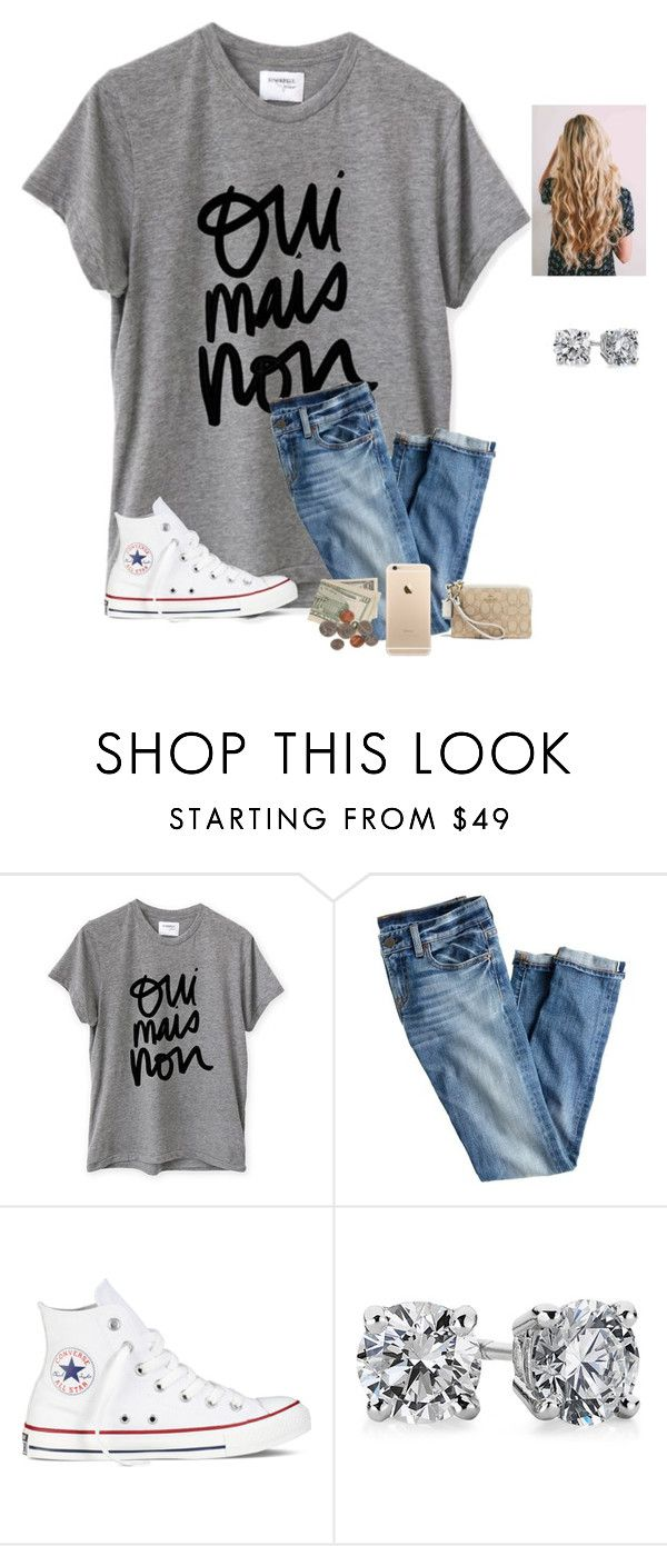 """Day 9/ But darlin don't you know I'm the only one for ya"" by raquate1232 ❤ liked on Polyvore featuring Sincerely, Jules, J.Crew, Converse, Blue Nile, Coach and 15daysofShawnwKarina"