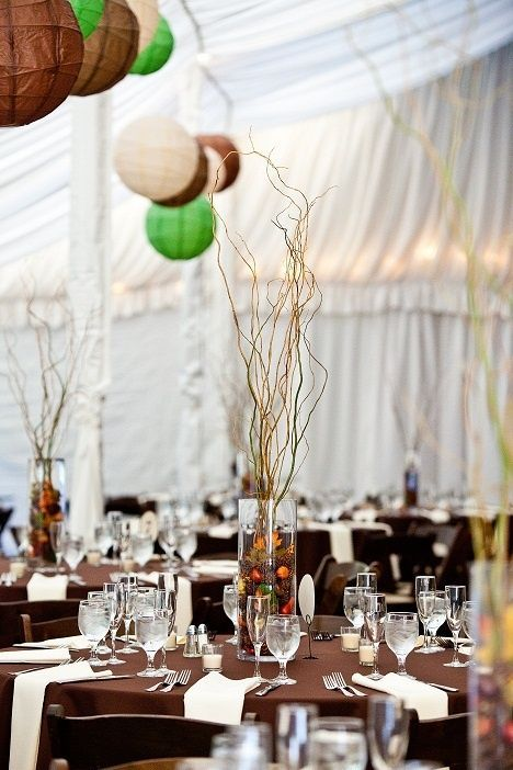 Branch Centerpeices For Sale Fallrustic Curly Willow Centerpieces