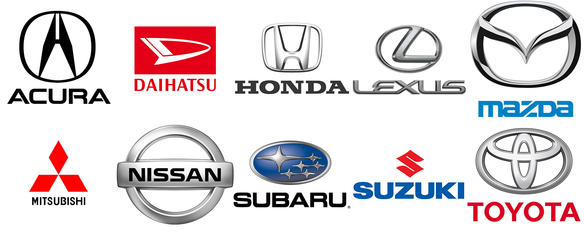 Japanese Car Brands >> Japanese Car Brands Flyer Auto Wreckers Melbourne Pinterest